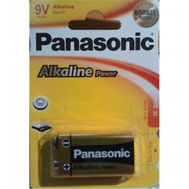 Pilas Alcalinas Panasonic 9v 6lr61 Ap 1-Blist