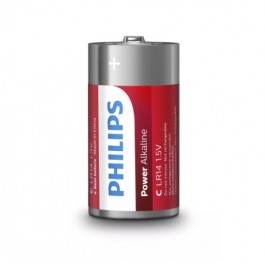 Pila Power Alkaline Philips  LR14P2B/10