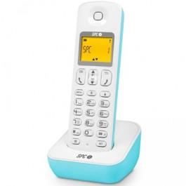 Teléfono Inalámbrico SPC TLC7280A Blanco Azul