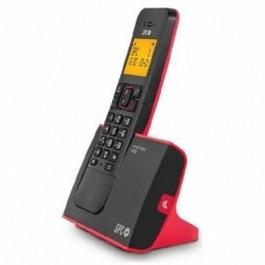 Teléfono Inalámbrico SPC Purity 7270R Negro y Rojo