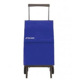 Carro de compra plegable azul ROLSER - PLE001