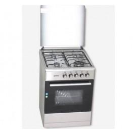 COCINA DE GAS ROMMER VCH 606 FG INOX NAT 4F 4 ZONAS COCCION INOX GN