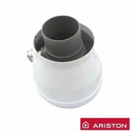 Adaptador Terminal de humos Ariston Chaffoteaux 3318095 Vertical 60/100mm - 80/125mm