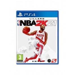 Juego NBA 2k21 Playstation 4