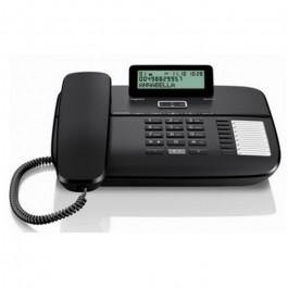 TELEFONO SOBREMESA SIEMENS DA710 NEGRO