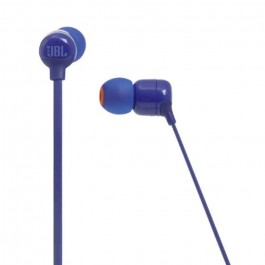 AURICULARES DE BOTON JBL T110 BT BLUE BLUETOOTH