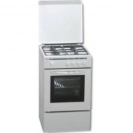 Cocina de gas Rommer VCH-450 BUT blanca 4 zonas cocción