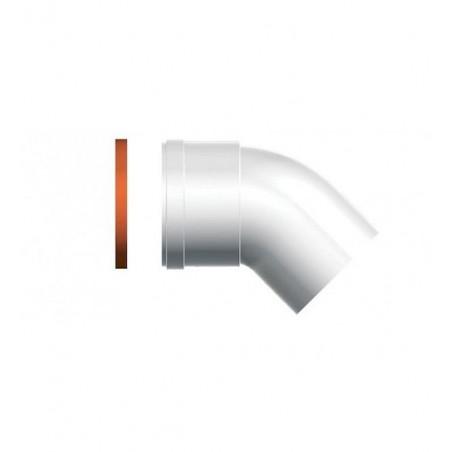 Caldera Condensacion ARISTON 3318085 CODO D80 M/H  45