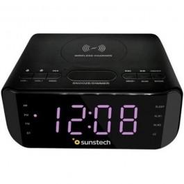 Radio Reloj Sunstech FRD50BTWCBK Negro Bluetooth