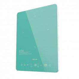 Placa de induccion Full Crystal Sky Color Azul  CECOTEC 8016