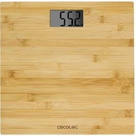 Balanza de Cocina Cecotec 9300 Surface Precisión LCD Bambú