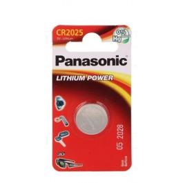 PILA LITIO PANASONIC CR-2025/1BP ( 1-BLISTER ) 3V