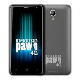 """TELEFONO MOVIL INFINITON PAWN 4G GRIS 5"""" ANDROID"""