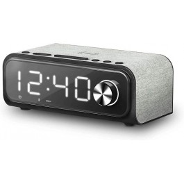 Altavoz portátil con Bluetooth Energy Sistem Clock Speaker 4 Wireless Charge