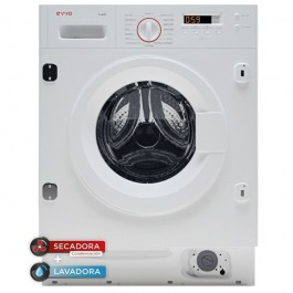 Lavadora secadora integrable Evvo I8W6S 8/6kg 1400rpm