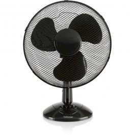 Ventilador Tristar VE5979 De Sobremesa , 40Cm . Negro , 3 Velocid . Oscilante , 45W.