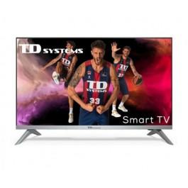 """Smart TV 32"""" Android 9.0 HbbTV TD Systems K32DLJ12HS"""