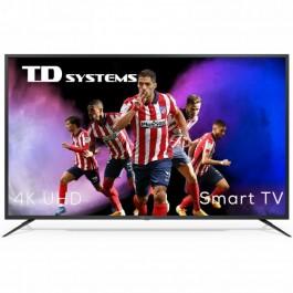 "Televisor 58"" TD Systems K58DLJ12US LED UltraHD 4K HDR10"