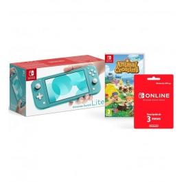 Consola Nintendo Switch Lite Turquesa Bundle2 10005233