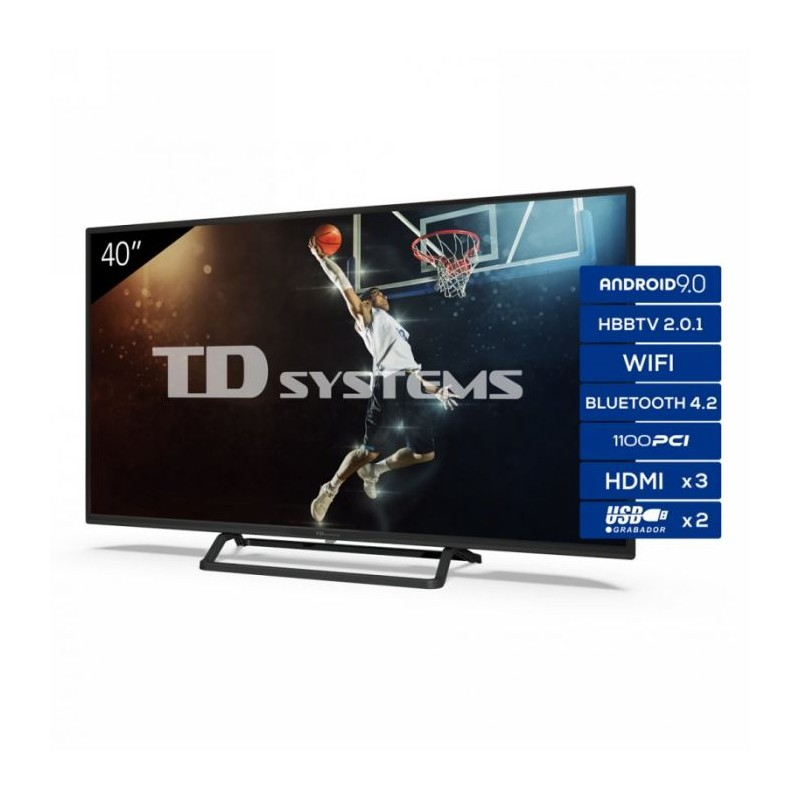 "Televisor 39,5"" TD Systems K40DLX11FS LED FullHD Smart"