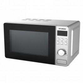 Microondas inox Grill de 20l Hyundai Hymi20lgdx