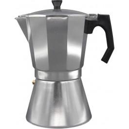 Cafetera Bastilipo Mokka 9 Tazas, Aluminio (Apta Para Inducción)