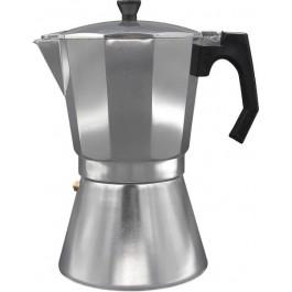 Cafetera Bastilipo Mokka 12 Tazas, Aluminio (Apta Para Inducción)
