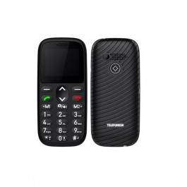 "TELEFONO MOVIL TELEFUNKEN S410 NEGRO 1,77"""