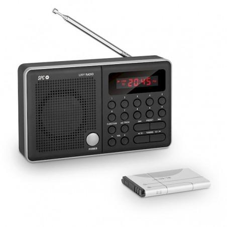 Radio Spc Livy Portátil Negra