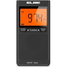 Radio Digital Elbe Rf-94 Am-Fm con Gran Display y Auriculares