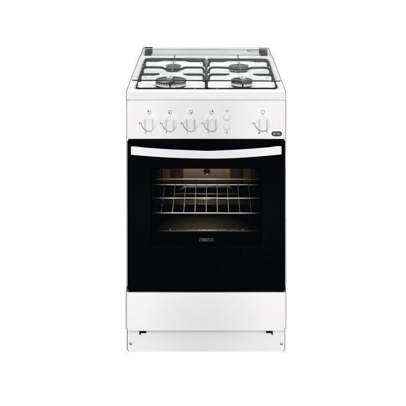 Cocina a gas Zanussi ZCG510U1WA  4 fuegos
