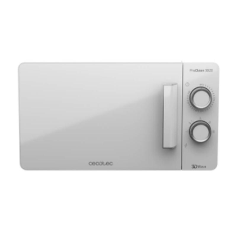 Horno microondas Cecotec Proclean 3020 20L Blanco sin grill