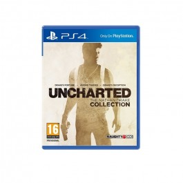 UNCHARTED THE NATHAM DRAKE COLLECTION SONY PS4