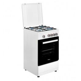 Cocina de Gas butano Teka FS 502 4GG blanco 50cm