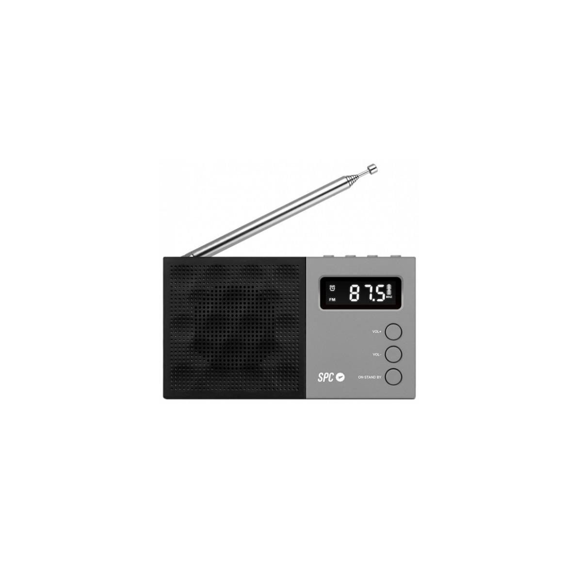 Radio Portátil SPC 4577N Con funcion despertador