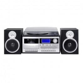 Giradiscos Trevi TT1070E Turntable+Radio+BT+Encoding Black