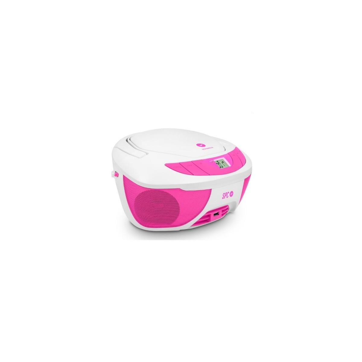 Radio CD SPC 4500P Boombox Rosa