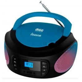 Radio Lauson LLB997 CD MP3 Azul