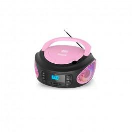 Radio Lauson LLB599 CD MP3 Rosado