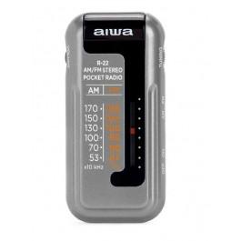 Radio de Bolsillo Aiwa R22SL Silver