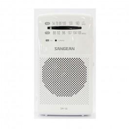 Radio de Bolsillo Sangean SR35 Blanco FM/AM