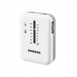 Radio de Bolsillo Sangean SR32 Blanco FM/AM