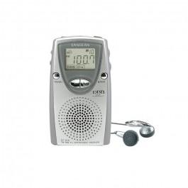 Radio Transistor de bolsillo Sangean DT210 Gris FM/AM