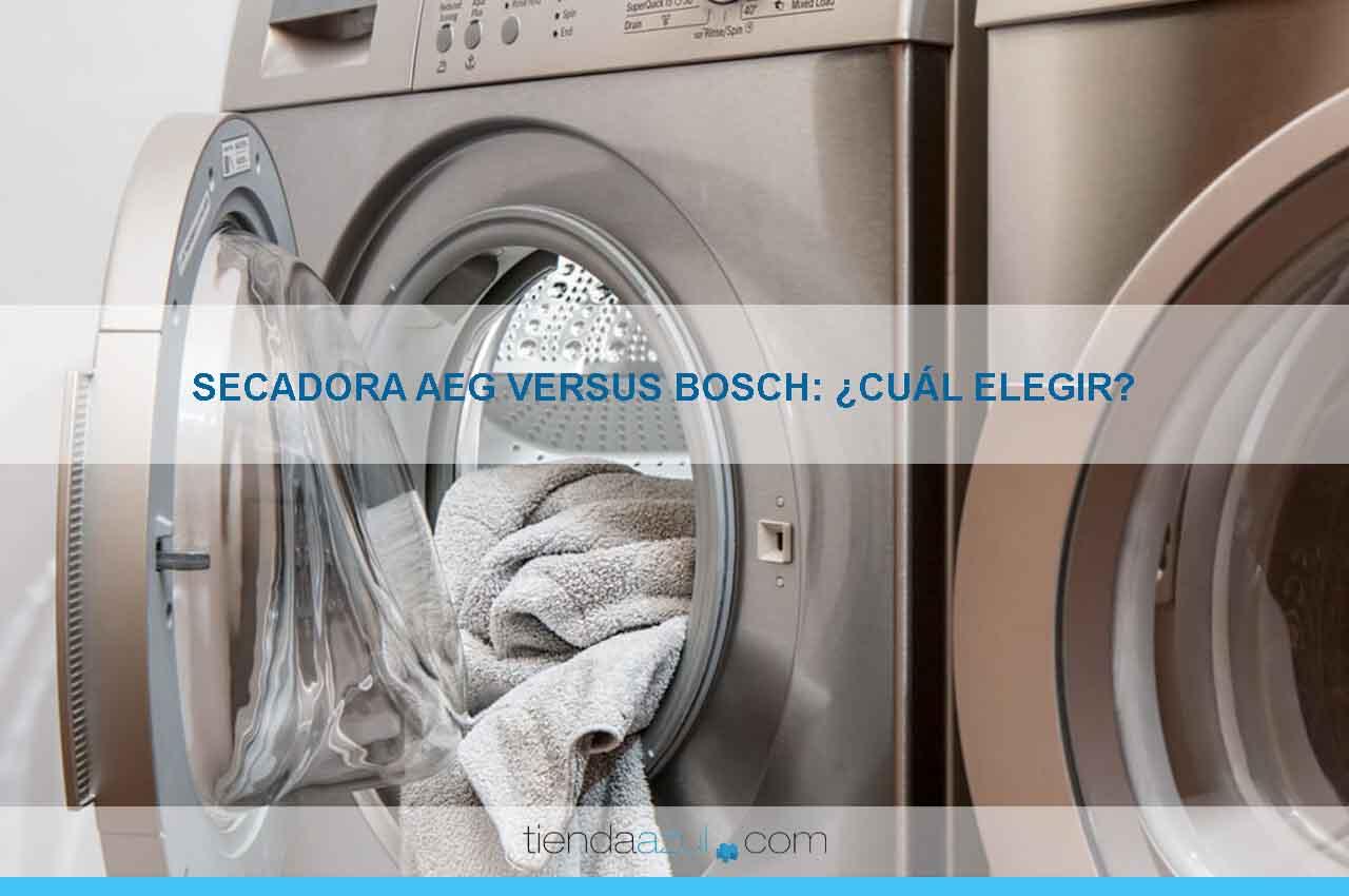 Secadora AEG vs Bosch