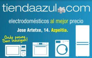 electrodomésticos tienda azul